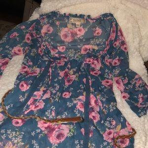 Decree Tops - Floral print blouse